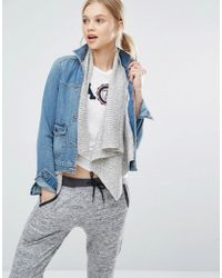 Abercrombie & Fitch - Denim Jacket With Wool Underlayer - 220 - Lyst