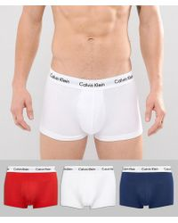 CALVIN KLEIN 205W39NYC - 3 Pack Trunks Low Rise - Lyst