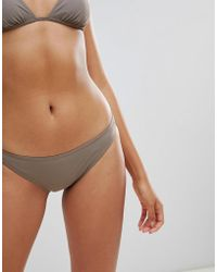 Calvin Klein Cheeky String Tie Side Bikini Bottom in Red - Lyst c006dc313ce