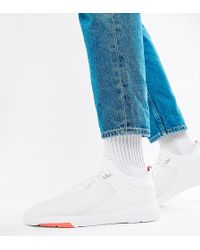 Pull&Bear - Knitted Trainers In White - Lyst