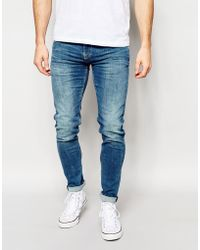 Pepe Heritage - Pepe Jeans Finsbury Skinny Jeans In Powerflex Light - Lyst