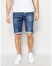 Pepe Jeans - Pepe Jeans Cash Denim Shorts - Blue - Lyst