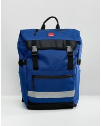 DC Shoes - Rolltop Backpack In Blue - Lyst