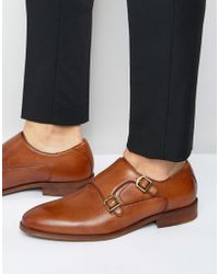 ALDO - Colza Leather Monk Shoes - Lyst