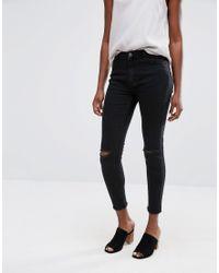 Minimum - Jagger Skinny Rip Knee Jeans - Lyst