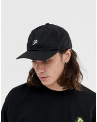 Primitive - Skateboarding Baseball Cap With Small Logo In Black - Lyst