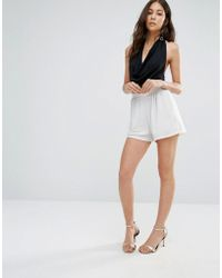 Oh My Love - Sparkle Elasticated Shorts - Lyst