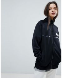 New Balance - Track Jacket In Black - Lyst