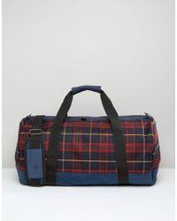 Mi-Pac - Mi Pac Weekend Duffle Travel Bag In Plaid - Lyst