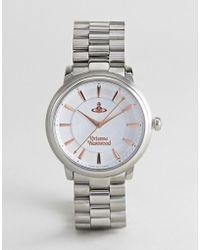 Vivienne Westwood - Vv196slsl Shoreditch Bracelet Watch In Silver - Lyst