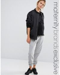 Bluebelle Maternity - Lounge Jogger With Panel Detail - Lyst