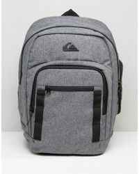 Quiksilver - Quicksilver Schoolie Backpack - Grey - Lyst