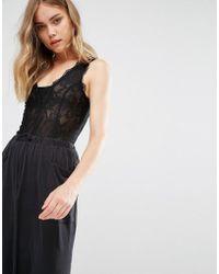 Gestuz - Lace Bodysuit - Lyst