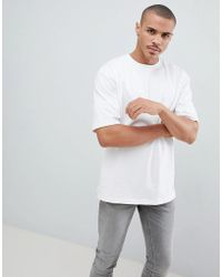 Only & Sons - Oversized T-shirt In Heavy Cotton - Lyst