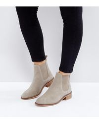 ASOS   Absolute Suede Chelsea Ankle Boots   Lyst