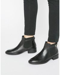 Oasis - Leather Buckle Detail Chelsea Boot - Lyst