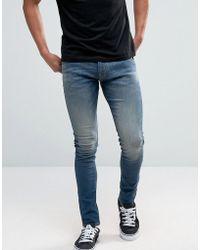 Quiksilver - Zeppelin Skinny Jeans - Lyst