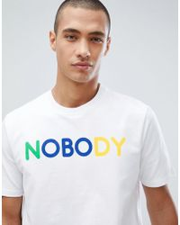 Only & Sons - Only And Sons Nobody T-shirt - Lyst