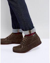 Eastland - Seneca Suede Boots In Dark Olive - Lyst