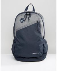 Volcom - Substrate Backpack In Navy - Lyst