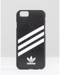 adidas Originals - Iphone 6/6s Phone Case In Black - Black - Lyst
