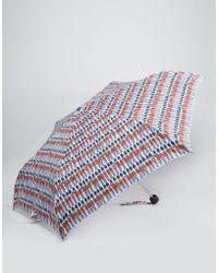 Cath Kidston - Minilite Umbrella In Guards Print - Lyst