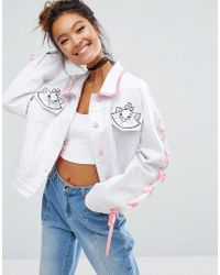 Lazy Oaf - X Disney Aristocats Denim Jacket - Lyst