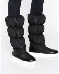 Monki - Padded Knee Boot - Lyst