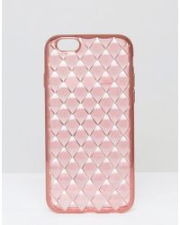 New Look - Quilted Iphone 6/6s Case - Lyst