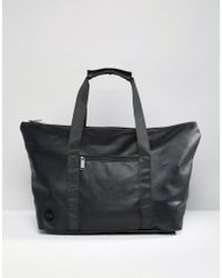 Mi-Pac - Tumbled Weekend Bag Black - Lyst