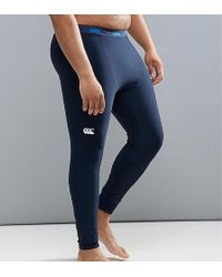 Canterbury - Canterbury Plus Thermoreg Baselayer Tights In Navy E512740-769 - Lyst