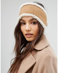Jack Wills - Sheepskin Head Band - Lyst