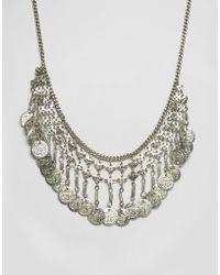Raga - Coin Necklace - Lyst
