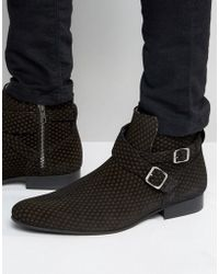 House Of Hounds - Hounds Logo Jodphur Boots - Lyst