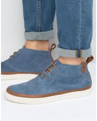 Lyle & Scott - Tanar Mudguard Desert Boots - Lyst