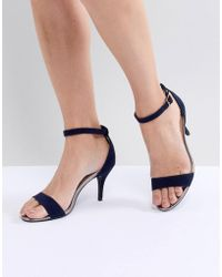 Oasis - Barely There Heeled Sandals - Lyst
