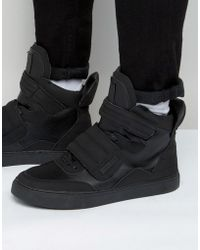 Criminal Damage - Tribeca High-top Trainers - Lyst