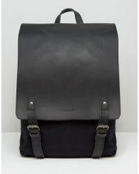 Forbes & Lewis - Leather Devon Backpack In Black - Lyst