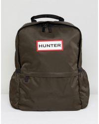 HUNTER - Original Olive Nylon Backpack - Lyst