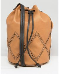Gracie Roberts   Drawstring Bucket Bag   Lyst