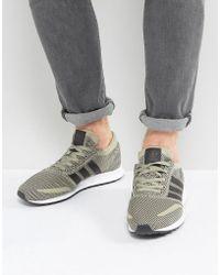new concept 57744 da8f2 adidas Originals - Los Angeles Sneakers In Beige - Lyst