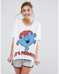 Missimo - Little Miss Friday Short Pyjama Set - Lyst