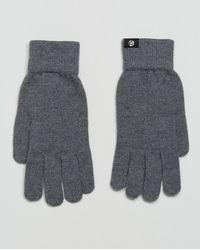 PS by Paul Smith - Merino Wool Gloves In Grey - Lyst