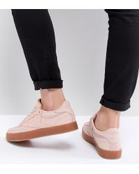 Reebok - Classic Club C 85 Palm Springs Trainers In Pink - Lyst