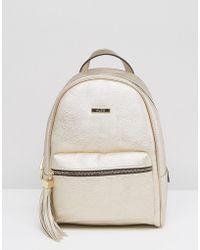 ALDO - Acenaria Metallic Backpack - Lyst