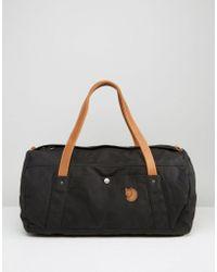 Fjallraven - Duffle No. 4 30l Bag Black - Lyst
