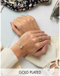 Ottoman Hands - Tear Hand Chain - Lyst