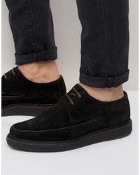 AllSaints | Suede Shoe | Lyst