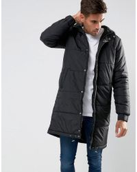 Another Influence - Longline Quilted Coat - Lyst