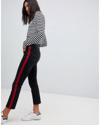 Polo Ralph Lauren - Straight Leg Jeans With Side Stripe Panel - Lyst